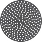 """American Metalcraft 18914PHC 14"""" Perforated Pizza Disk - Hard Coat Anodized Aluminum"""