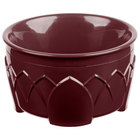 Dinex DX530061 Fenwick 9 oz. Cranberry Insulated Bowl - 48/Case