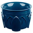 Dinex DX520050 Fenwick 5 oz. Dark Blue Insulated Bowl - 48/Case