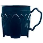 Dinex DX500050 Fenwick 8 oz. Dark Blue Insulated Mug - 48/Case