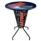 "Holland Bar Stool L218B42FlorUn36RFlorUn-D2 University of Florida 36"" Round Bar Height LED Pub Table"