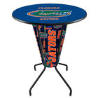 Holland Bar Stool L218B42FlorUn36RFlorUn University of Florida 36 inch Round Bar Height LED Pub Table