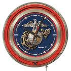 Holland Bar Stool Clk15Marine United States Marine Corps 15 inch Neon Clock