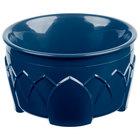 Dinex DX530050 Fenwick 9 oz. Dark Blue Insulated Bowl - 48/Case