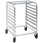 Channel SSPR-3S3 16 Pan End Load Stainless Steel Steam Table Pan Rack - Assembled