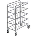 Channel UC0705 Chrome Plated Five Shelf Mobile Rack 42