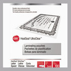 Swingline 3200587 UltraClear 11 1/2 inch x 9 inch Letter Thermal Laminating Pouch   - 100/Box