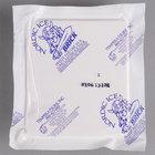 Nordic NB15 15 oz. 4 1/2 inch x 4 inch x 1 1/2 inch Foam Brick Cold Pack - 12/Pack