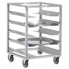 Channel AUR-6 Adjustable Aluminum Mobile Universal Rack - 5 Pan