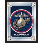 Holland Bar Stool MLogoMarine 17 inch x 22 inch United States Marine Corps Decorative Logo Mirror