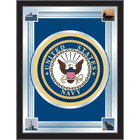 Holland Bar Stool MLogoNavy 17 inch x 22 inch United States Navy Decorative Logo Mirror