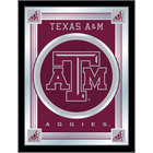 Holland Bar Stool MLogoTexA-M 17 inch x 22 inch Texas A&M Decorative Logo Mirror