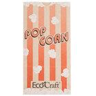 Bagcraft Papercon 300611 4 1/4 inch x 2 1/2 inch x 8 1/4 inch 46 oz. EcoCraft Popcorn Bag - 1000/Case