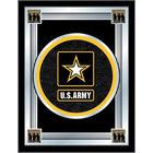 Holland Bar Stool MLogoArmy 17 inch x 22 inch United States Army Decorative Logo Mirror