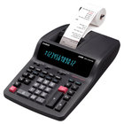 Casio DR210TM 12-Digit Black / Red Two-Color Printing Calculator - 4.4 Lines Per Second