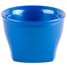 Cambro MDSHB5489 Harbor Collection Metallic Blue 5 oz. Insulated Plastic Bowl - 12/Pack