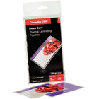 Swingline GBC 3202002 UltraClear 5 1/2 inch x 3 1/2 inch Index Card Thermal Laminating Pouch - 25/Pack
