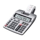 Casio HR150TM Portable 12-Digit Black / Red Two-Color Printing Calculator - 2.4 Lines Per Second