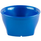 Cambro MDSHB9489 Harbor Collection Metallic Blue 9 oz. Insulated Plastic Bowl - 12/Pack