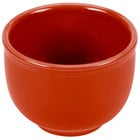 Homer Laughlin 098326 Fiesta Scarlet 18 oz. Jumbo China Bowl - 12/Case