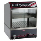Nemco 8300 Countertop Hot Dog Steamer with Low Water Indicator Light - 230V