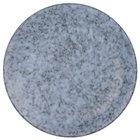 10 Strawberry Street BISEKI-8RD Biseki 8 inch Round Blue Stoneware Salad Plate - 36/Case
