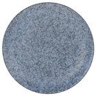 10 Strawberry Street BISEKI-1RD Biseki 10 inch Round Blue Stoneware Dinner Plate - 24/Case