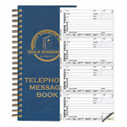Rediform 50079 2-Part Carbonless Wirebound Phone Message Book with 600 Forms