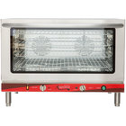 Avantco CO-46 Full Size Countertop Convection Oven with Steam Injection, 4.4 Cu. Ft. - 208-240V, 3500-4600W