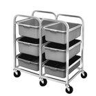 Channel BBC-6 Mobile Aluminum Lug Rack - 6 Lug Capacity