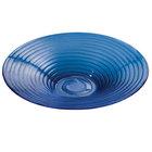 American Metalcraft Glacier GBB20 Blue Glass Bowl - 18 1/2 inch x 3 1/2 inch