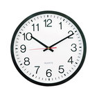 Universal UNV10431 12 5/8 inch Black Wall Clock