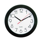 Universal UNV10421 9 3/4 inch Black Wall Clock