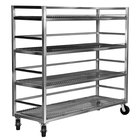 Channel MC2472-4 Transport Flight Cart with 4 Shelves