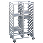 Channel 420A 60 Pan Bottom Load Double Aluminum Bun / Sheet Pan Rack - Assembled