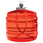 Sterno 30128 Soft Light 100 Hour Smokeless Red Liquid Candle Fuel Cartridge - 12/Case