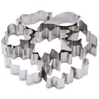 Ateco 4852 7-Piece Stainless Steel Leaf Cutter Set