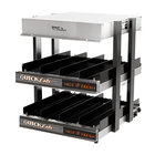 Global Solutions by Nemco GS1300-16 18 inch 2-Shelf Heated Merchandiser - 120V, 1275W