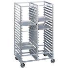 Channel 423A 24 Pan Bottom Load Double Aluminum Bun / Sheet Pan Rack - Assembled