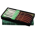 Dexter-Russell 18231 Connoisseur 6 Piece Steak Knife Set with Gift Box