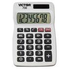 Victor 700 8-Digit LCD Solar Battery Powered Pocket Calculator