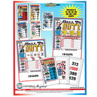 Patriotic Pack 1 Window Pull Tab Tickets - 480 Tickets per Deal - Total Payout: $363
