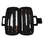 Dexter-Russell 20292 Connoisseur 7 Piece Forged Premier Chefs Knife Set with Black Cutlery Case