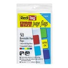 Redi-Tag 76820 Write-On 5 Assorted Color Removable Page Flag - 50/Pack