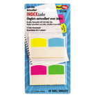 Redi-Tag 33148 Write-On 4 Assorted Color 1 1/16 inch Self-Stick Index Tab - 48/Pack