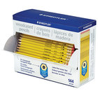 Staedtler 13247C144A6 Woodcase Yellow Barrel HB Lead #2 Pencil - 144/Pack