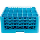 Carlisle RG49-314 OptiClean 49 Compartment Glass Rack with 3 Extenders