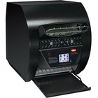 Hatco TQ3-500 Toast-Qwik Black Conveyor Toaster with 2 inch Opening and Digital Controls - 240V, 2220W