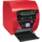 Hatco TQ3-900 Toast-Qwik Red Conveyor Toaster with 2 inch Opening and Digital Controls - 208V, 3020W