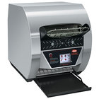 Hatco TQ3-900H Toast-Qwik Stainless Steel Conveyor Toaster with 3 inch Opening and Digital Controls - 208V, 3020W
